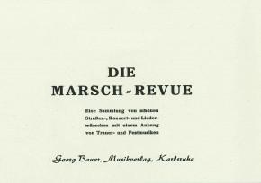Die Marsch-Revue <br />2. Horn in F