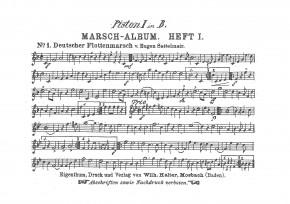 Halters Marsch Album HEFT 1