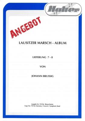 Lausitzer MARSCH ALBUM 7-8