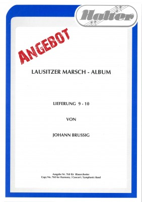 Lausitzer MARSCH ALBUM 9-10
