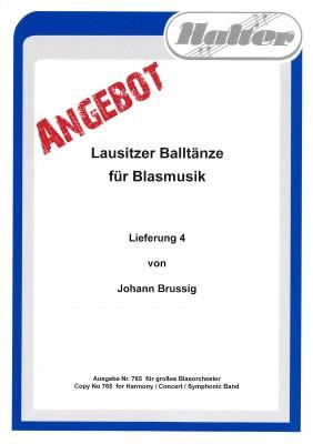 Lausitzer BALLTÄNZE - Lieferung 4
