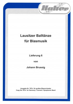 Lausitzer BALLTÄNZE - Lieferung 6