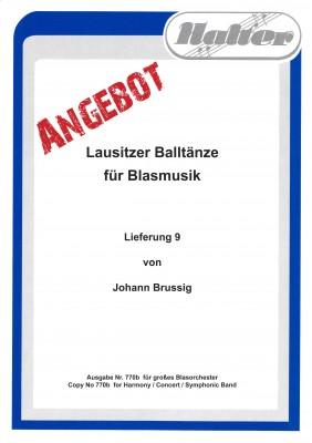 Lausitzer BALLTÄNZE - Lieferung 9