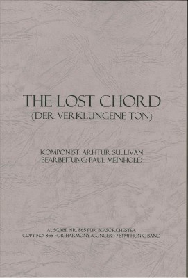 The lost Chord (Der verklungene Ton)