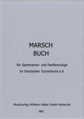 Marchbook for Military and Fanfareband