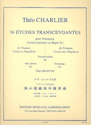 36 Études transcendantes (pour trompette)