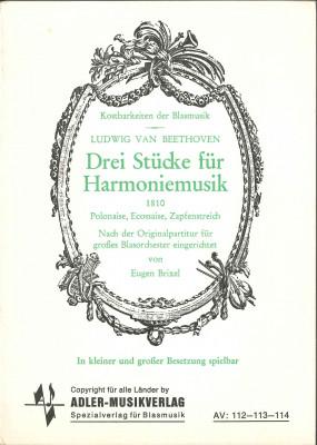 Drei Stücke für Harmoniemusik (Beethoven)