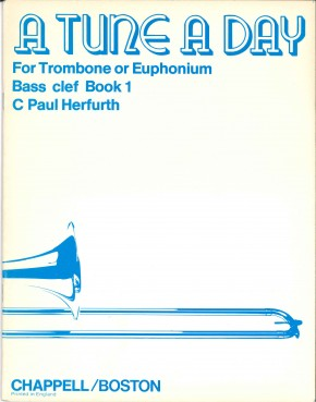 A Tune A Day (For Trombone or Euphonium) - Book 1