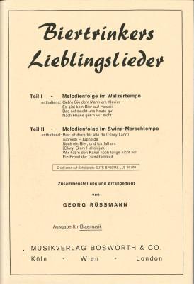 Biertrinkers Lieblingslieder I / II