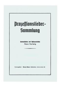 Prozessionslieder Sammlung