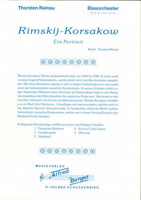 Rimskij Korsakow - LAGERABVERKAUF