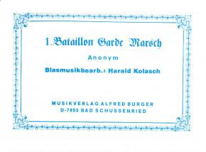 1. Bataillon Garde Marsch - LAGERABVERKAUF