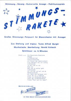 Stimmungs-Rakete / Stimmungsrakete - LAGERABVERKAUF