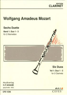 Sechs Duette für 2 Klarinetten BAND 1: Duo 1-3