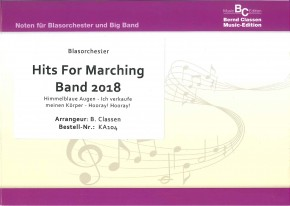 Hits For Marching Band 2018