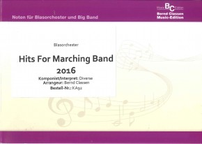 Hits For Marching Band 2016