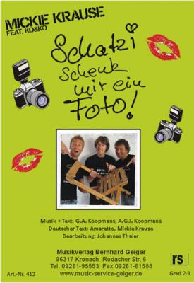 Schatzi schenk mir ein Foto (Photo)