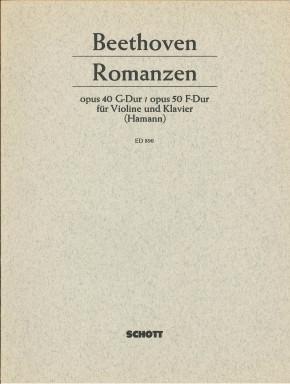 Zwei Romanzen für Violine und Klavier - LAGERABVERKAUF
