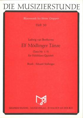 Elf Mödlinger Tänze (Tanz Nr. 1-5)