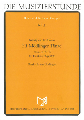 Elf Mödlinger Tänze (Tanz Nr. 6-11)
