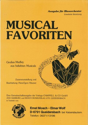 Musical Favoriten - LAGERABVERKAUF