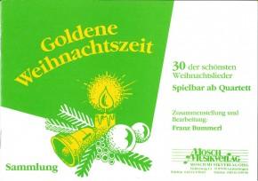Goldene Weihnachtszeit 4. Stimme in Es (tief): Tuba / Baritonsaxophon bei Orchesterbesetzung