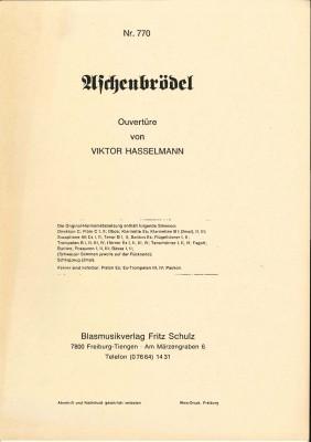 Aschenbrödel (Aschenputtel) - LAGERABVERKAUF
