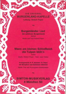 Burgenländer Lied (Im schönen Burgenland)