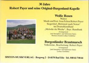 Burgenländer Brautmarsch - LAGERABVERKAUF