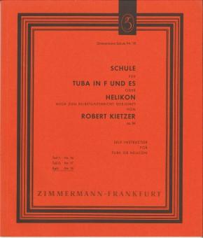 Schule für Tuba in F und Es oder Helikon - TEIL 1 + 2