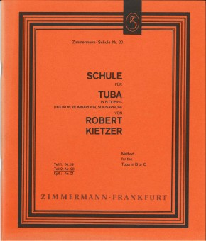 Schule für Tuba in B oder C - TEIL 2