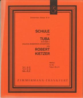 Schule für Tuba in B oder C - TEIL 1 + 2