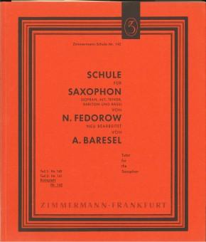 Schule für Saxophon - TEIL 1+2